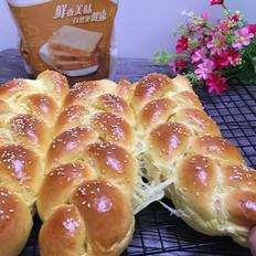 香雪面粉南瓜辫子面包