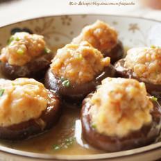 虾仁酿香菇