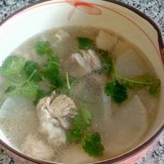羊肉白萝卜汤