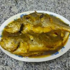 炖黄花鱼(晚餐)