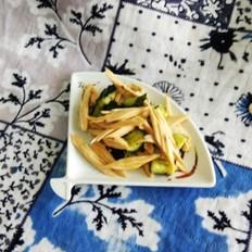 腐竹拌黄瓜#晚餐#