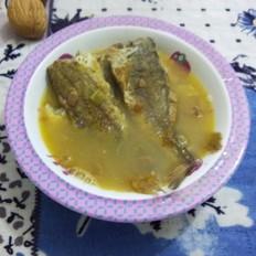 黄豆酱炖小黄花鱼