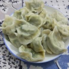 鱼肉韭菜馅水饺