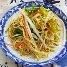 炝拌干豆腐
