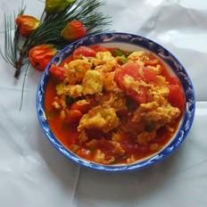 杭椒炒西红柿鸡蛋的做法大全