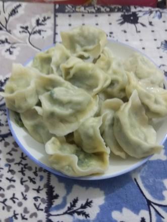 鱼肉韭菜馅水饺的做法
