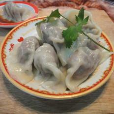 香菜牛肉水饺