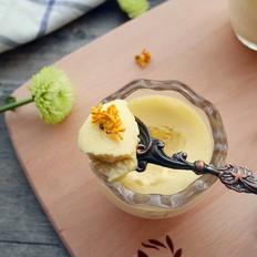 桂花奶酪布丁