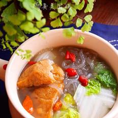 立冬暖锅-爆鱼粉丝汤
