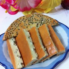 绿豆酸奶戚风蛋糕