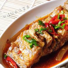 泡椒红烧带鱼