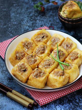 蒸酿豆腐泡的做法