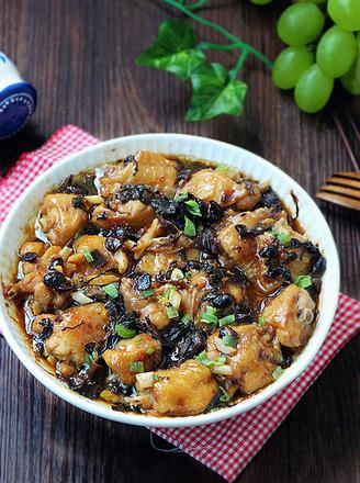 梅干菜蒸鸡翅的做法