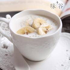 香蕉牛奶西米露