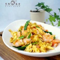 鸡蛋炒虾仁