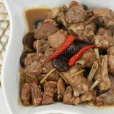 香菇焖鸭肉