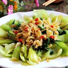 虾皮小油菜