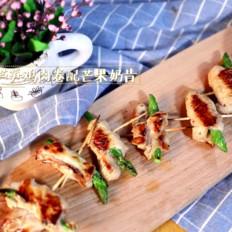 悦美食-芦笋鸡肉卷