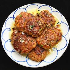 黑椒煎肉饼