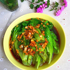 蒜蓉蚝汁生菜