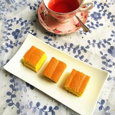 白桃果酱夹心蛋糕#下午茶#