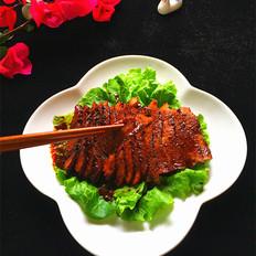杨梅酒秘制酱里脊肉#午餐#
