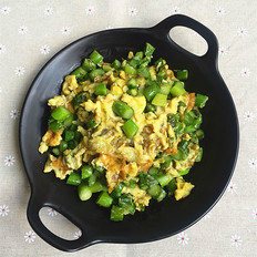 芦笋煎鸡蛋