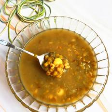 绿豆百合莲子汤
