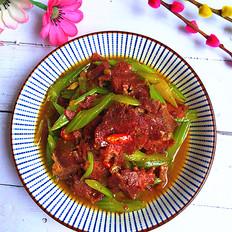 芹菜炒卤牛肉的做法大全