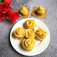 红薯泥玫瑰花