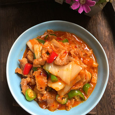 辣白菜炒瘦肉