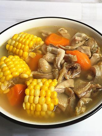 玉米猪肚鸡汤的做法
