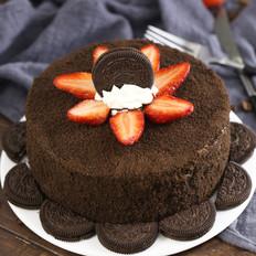 奥利奥草莓夹心蛋糕