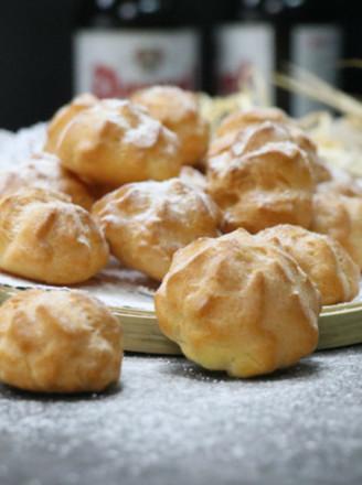 奶油泡芙法式美味的做法