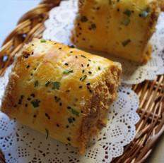 肉松面包卷 汤种法