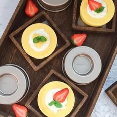 水果奶油蛋糕杯