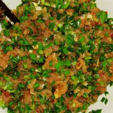 猪肉韭菜饺子馅的做法