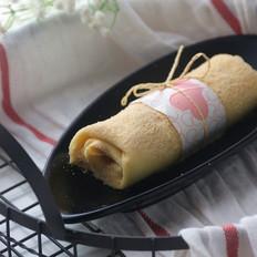 冻干黄桃毛巾卷千层蛋糕