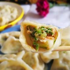 小白菜虾仁鲜肉饺子