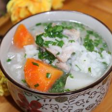 排骨萝卜泡饭粥
