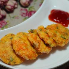 鲜虾胡萝卜饼