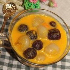 南瓜芋圆汤