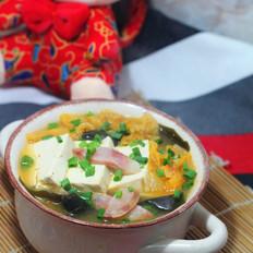 泡菜卤豆腐锅