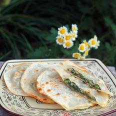 野菜冬笋饼