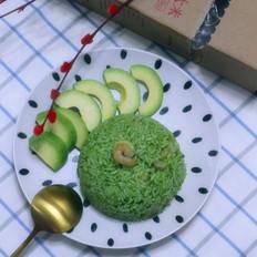 芝士风味虾仁烩饭