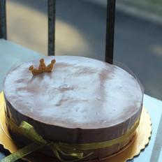 香蕉巧克力幕斯蛋糕
