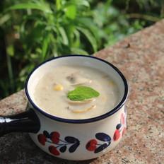 奶油玉米蘑菇汤