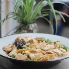 香菇青豆烩豆腐