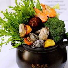 海鲜什锦火锅