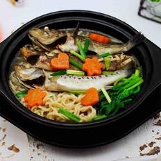 补钙降血脂的海杂鱼荞麦面